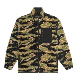 HUF Milton Reversible Polar Fleece Tiger Camo/Black
