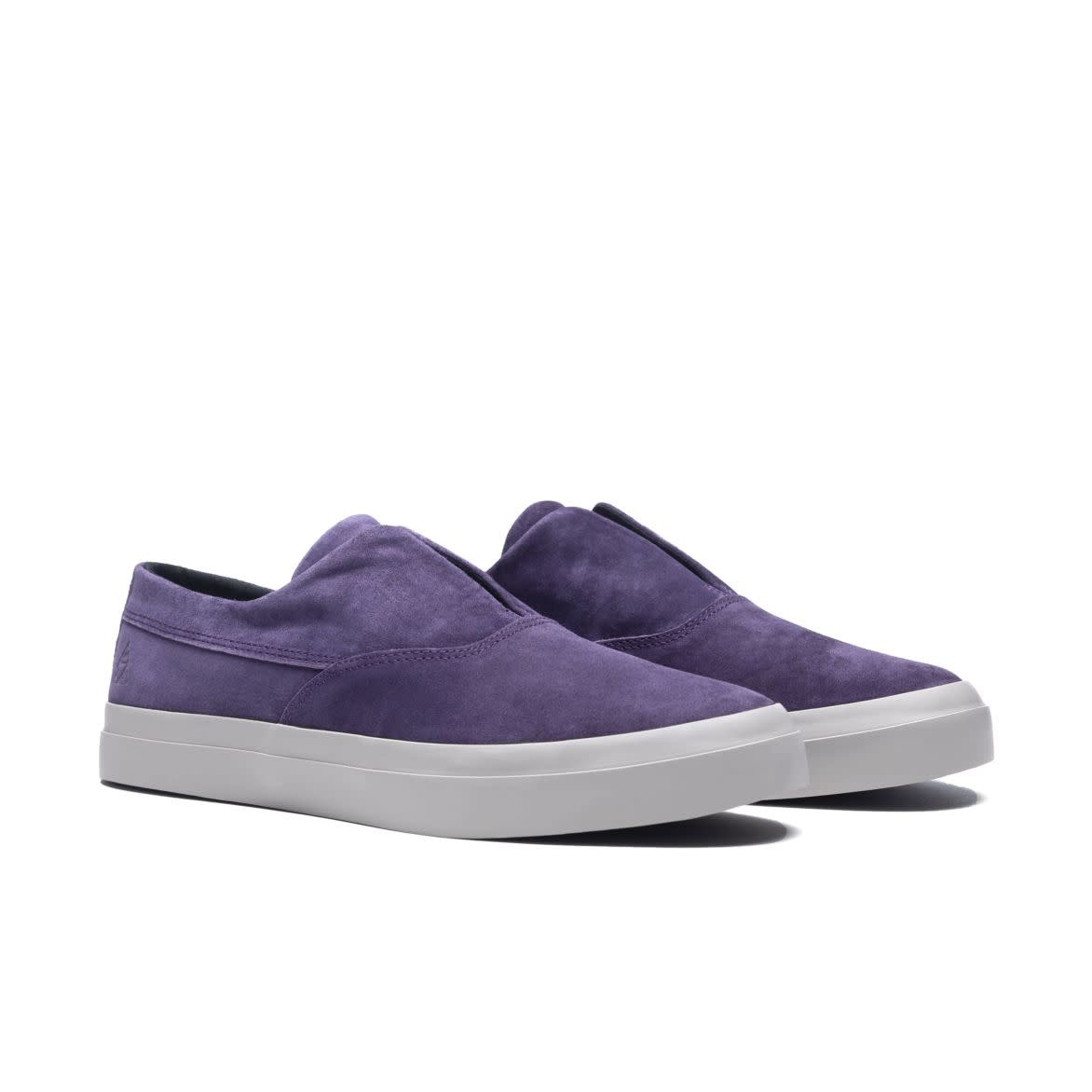 HUF Dylan Slip On Purple Suede