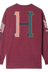 HUF Suspension Classic H L/S Red Pear