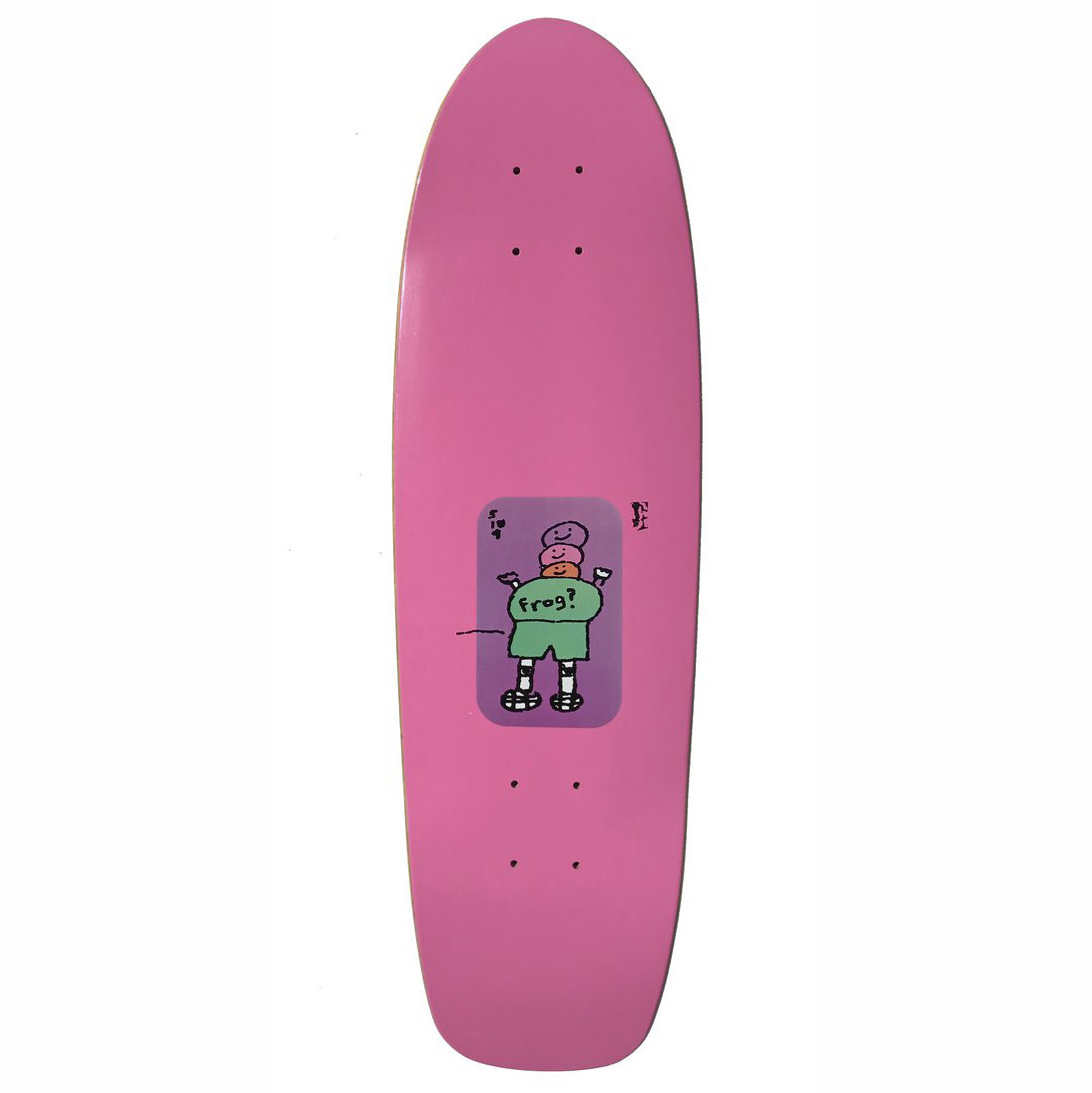Frog Skateboards Mini Pink 8.0