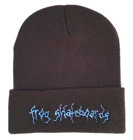 Frog Skateboards Evil Moon Beanie Brown/Blue