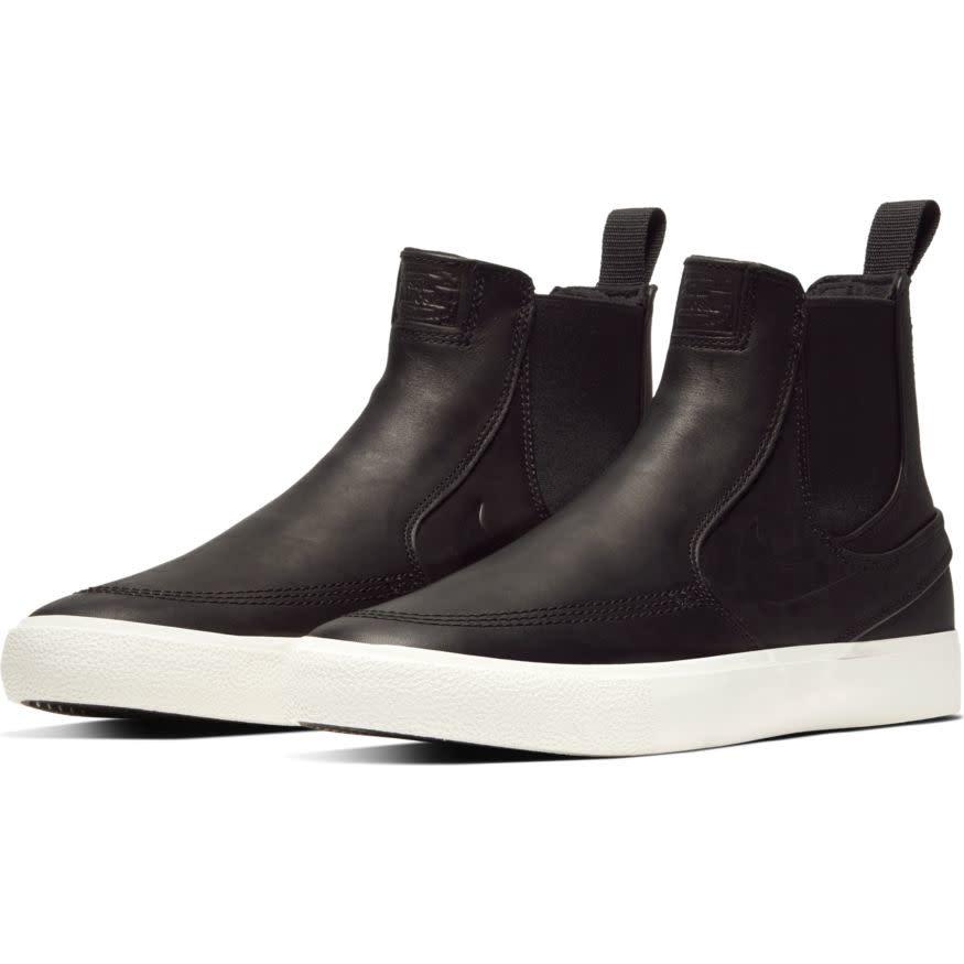 Nike USA, Inc. Zoom Janoski Slip Mid RM Black/Pale-Ivory