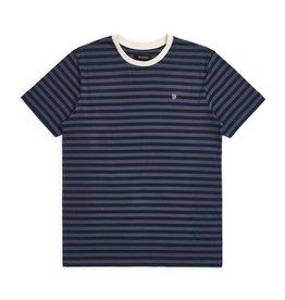 Brixton Hilt Mini Stripe Knit Black/Washed Navy
