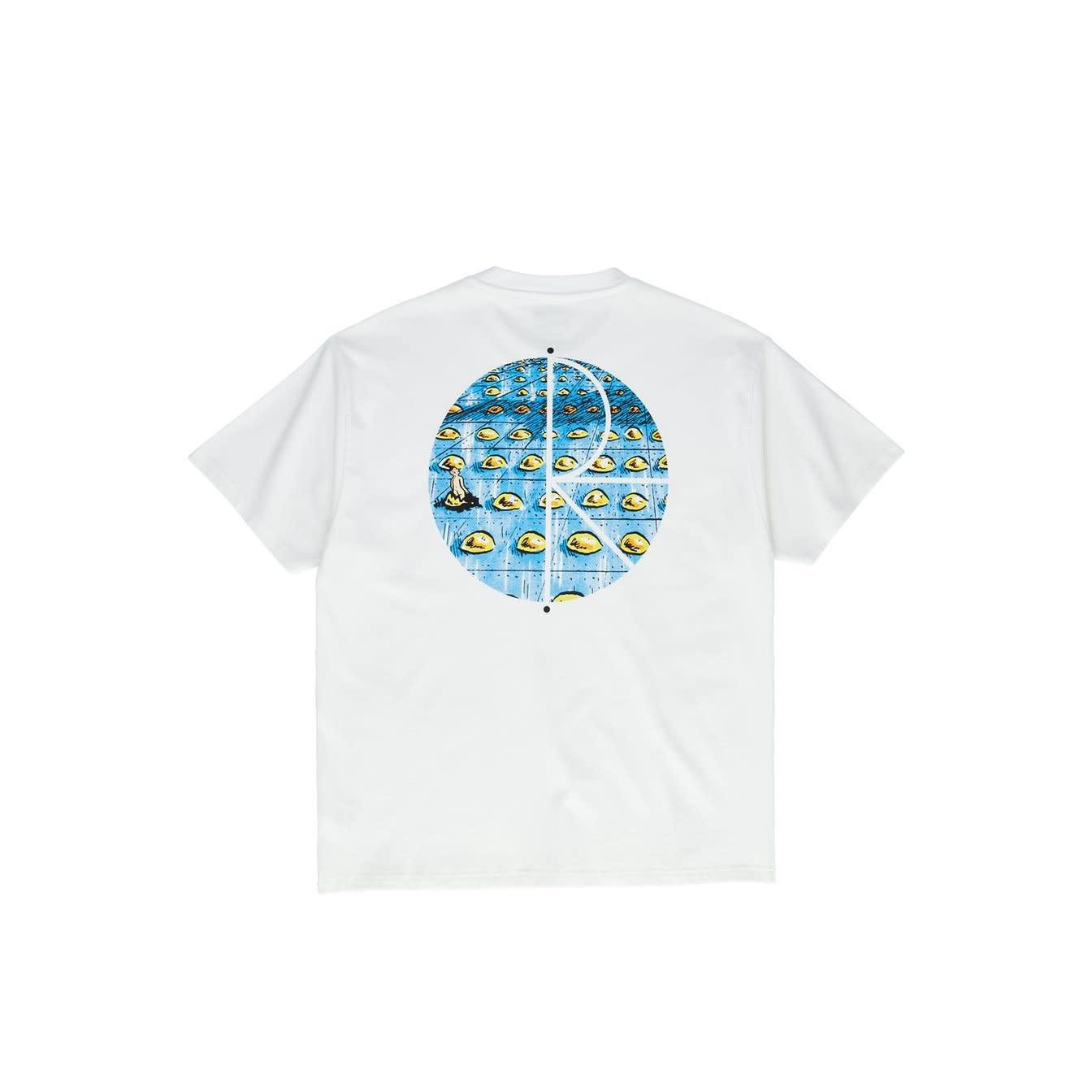 Polar Skate Co. Dragon's Nest Fill Logo White