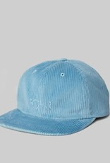 Polar Skate Co. Corduroy Cap Sky Blue