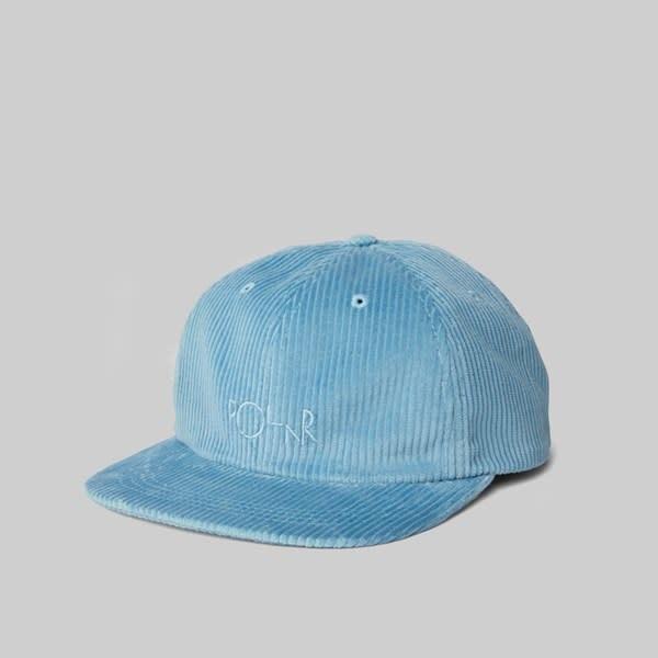 Polar Skate Co. Corduroy Cap Sky Blue