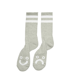 Polar Skate Co. Happy Sad Socks Sport Grey 39/42