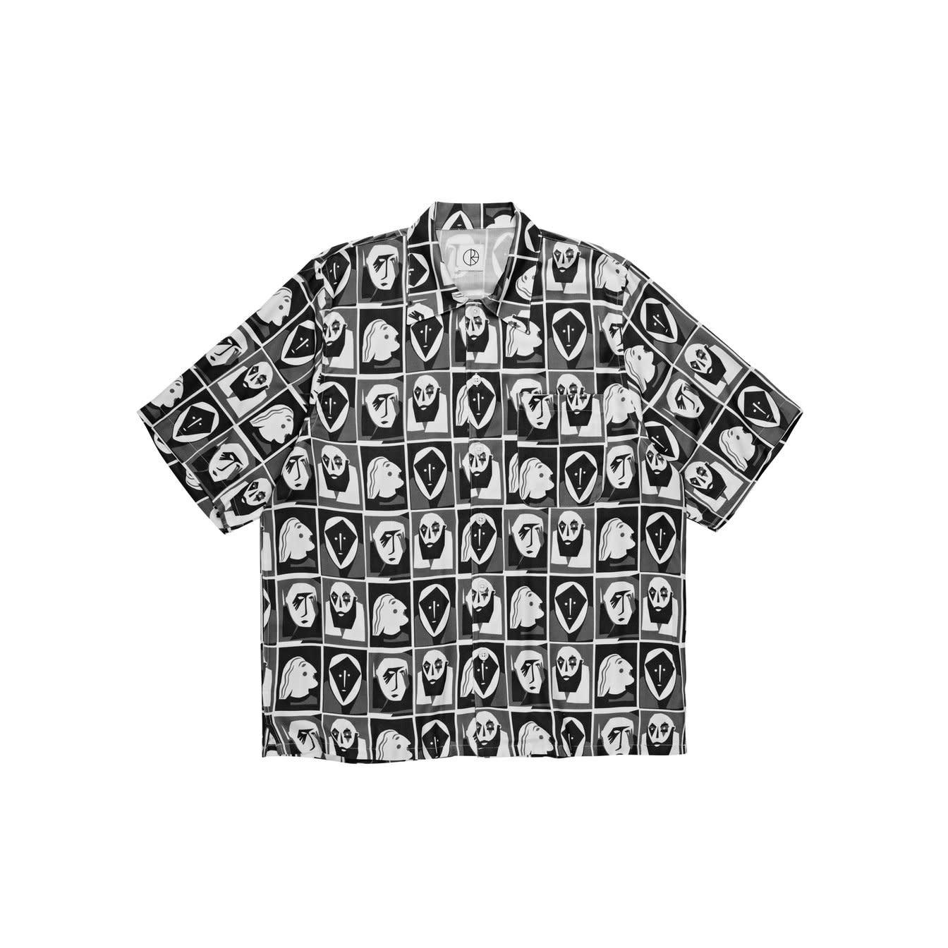 Polar Skate Co. Art Shirt Selfie Black