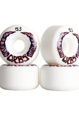 Welcome Skateboards Orbs Apparitions White 53mm