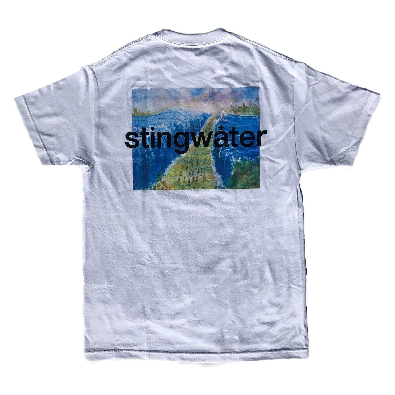 Stingwater Moses White Tee