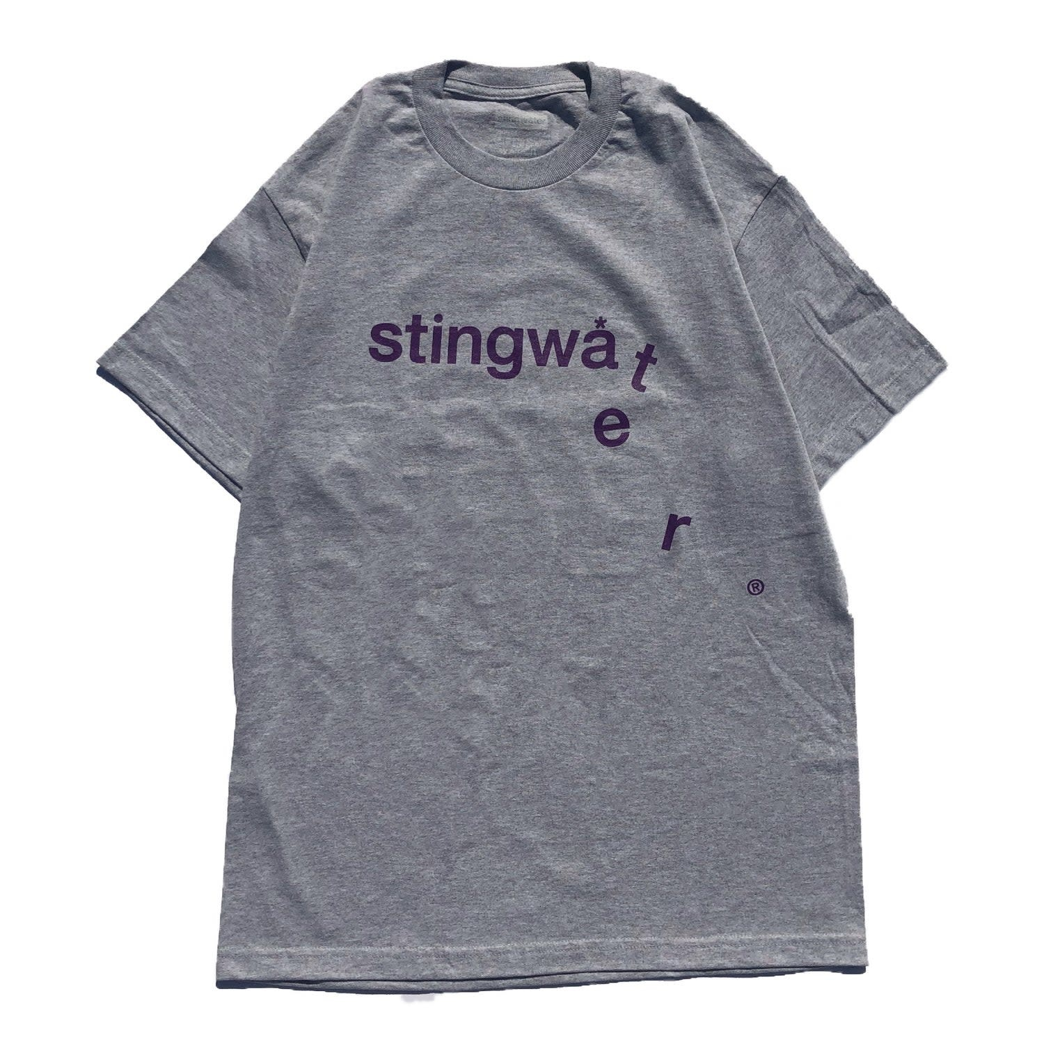 Stingwater Drip Heather Grey Tee