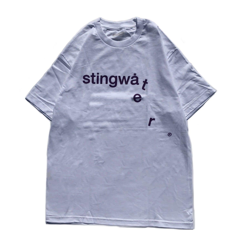 Stingwater Drip White Tee