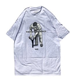 Stingwater They Don't Want You To Groe White Tee