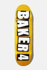Baker Skateboards Baker 4 White Veneer Shaped 9.25""