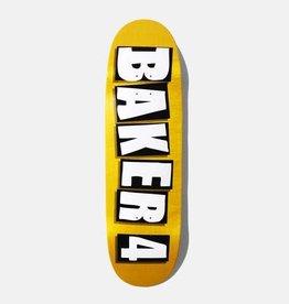 """Baker Skateboards Baker 4 Black Veneer Shaped 9.25"""""""