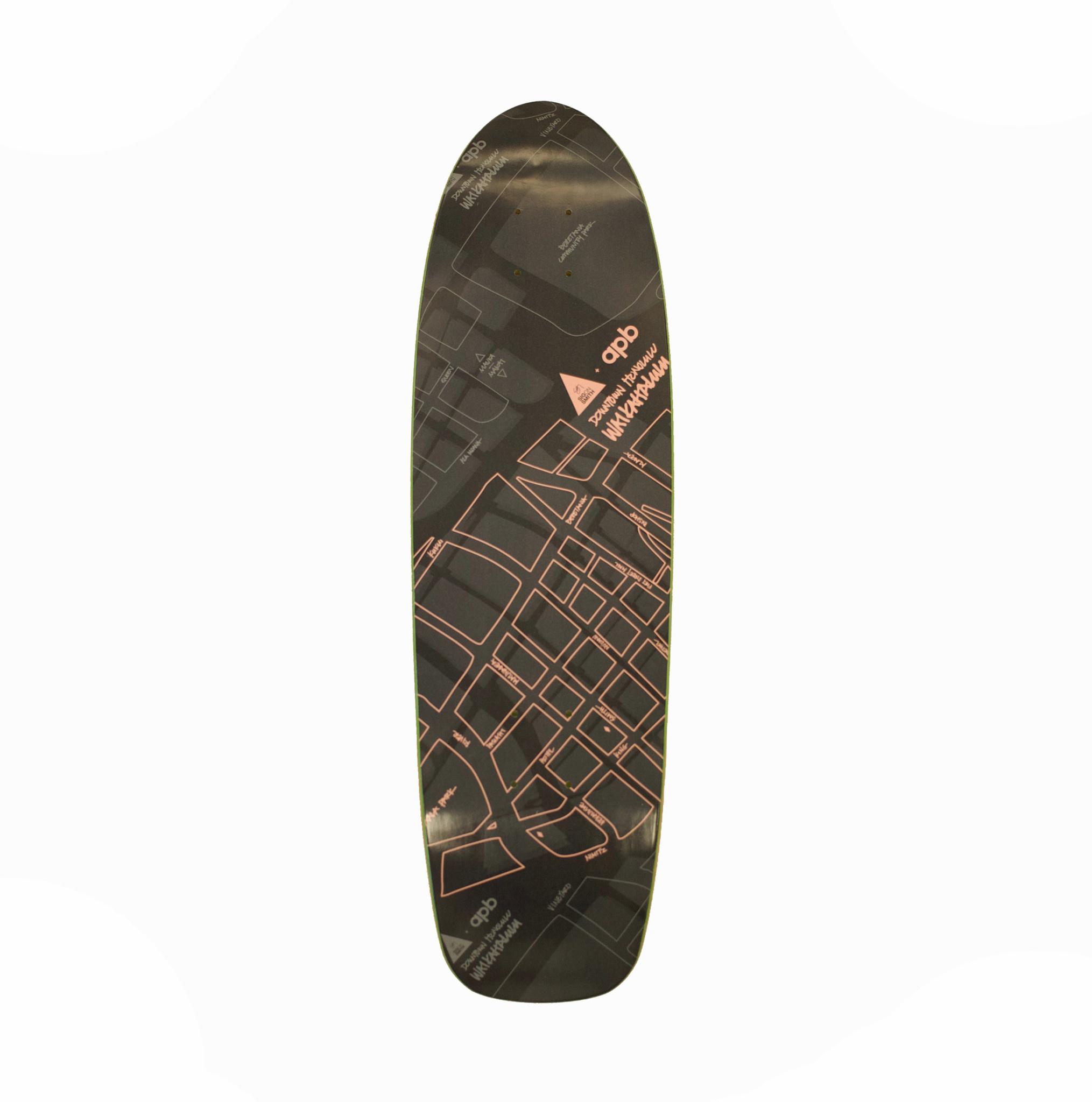 """APB Skateshop Waikahalulu Black/Pink 8.0"""""""