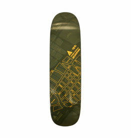APB Skateshop Waikahalulu Green/Yellow 8.5""