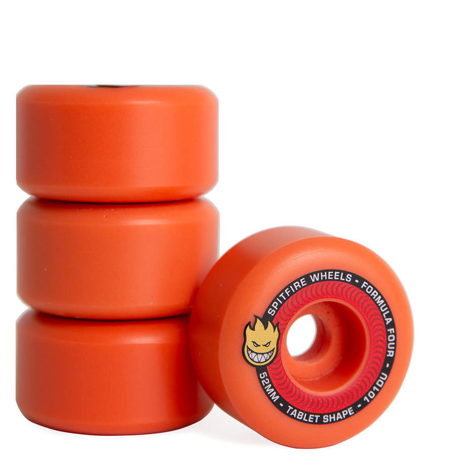 Spitfire Wheels Spitfire F4 101d Tablets Aurora Red 52mm