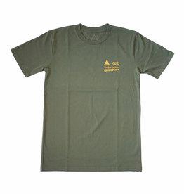 APB Skateshop Waikahalulu Sig Zane X APB Olive T-Shirt