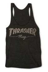 Thrasher Mag. Mag Logo Racerback Black Tank