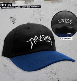 Thrasher Mag. Lotties Old Timer Hat Black/Navy