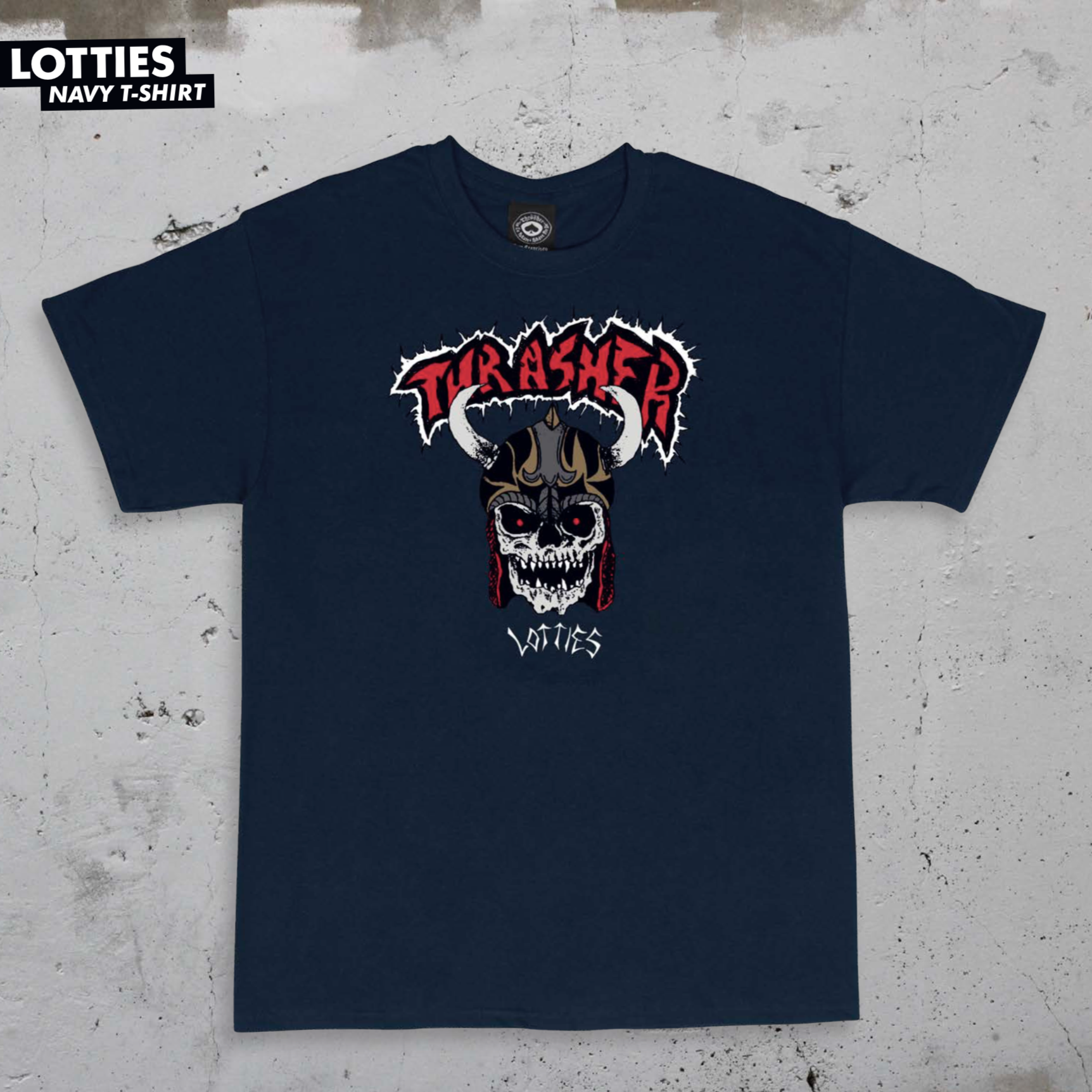 Thrasher Mag. Lotties Navy
