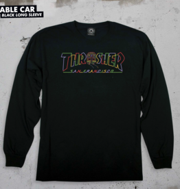 Thrasher Mag. Cable Car L/S Black