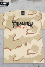 Thrasher Mag. Calligraphy Dessert Camo