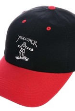 Thrasher Mag. Gonz Old Timer Hat Black/Red