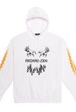 CallMe917 Matrix Pullover Hood White Size Large