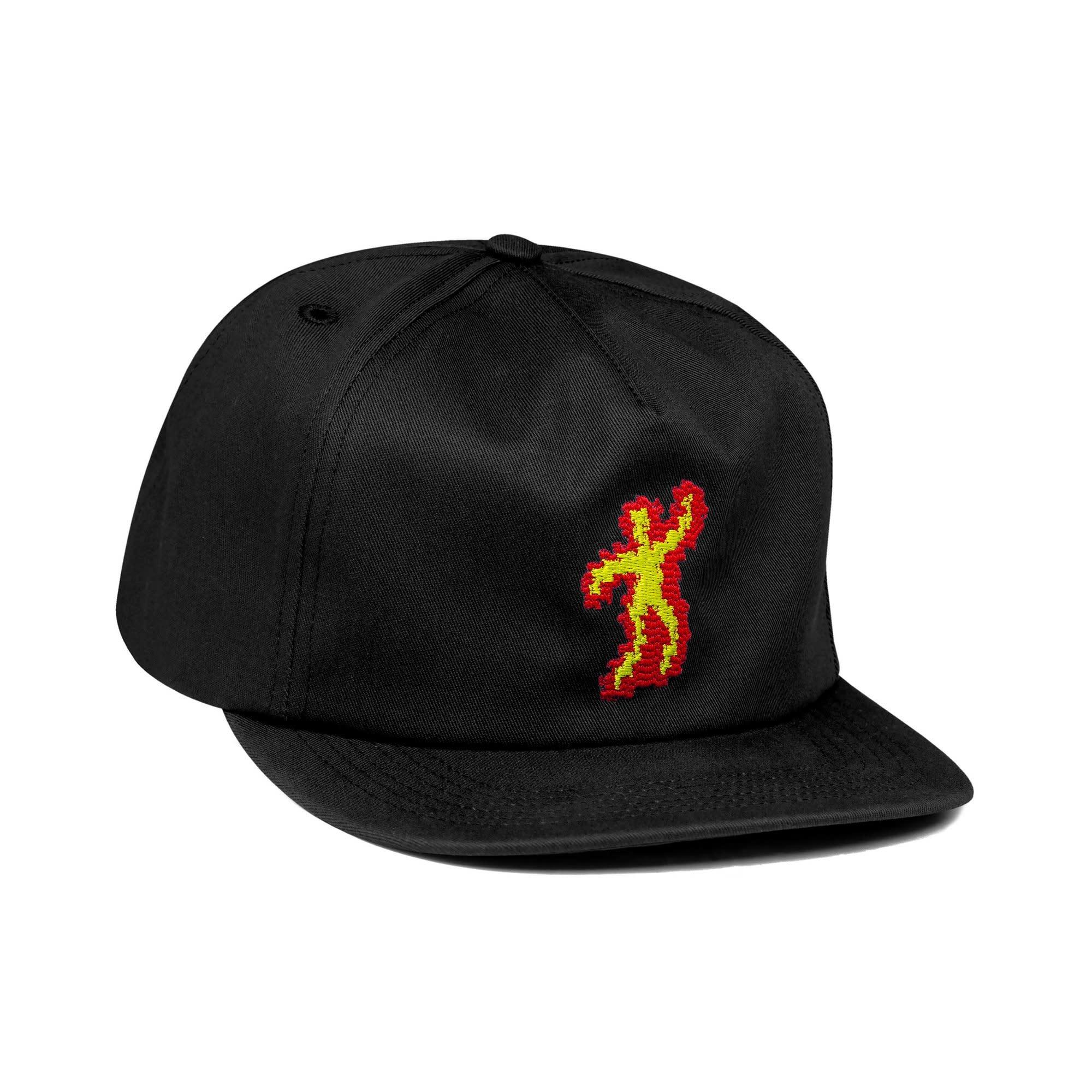 CallMe917 Scorched Hat Black