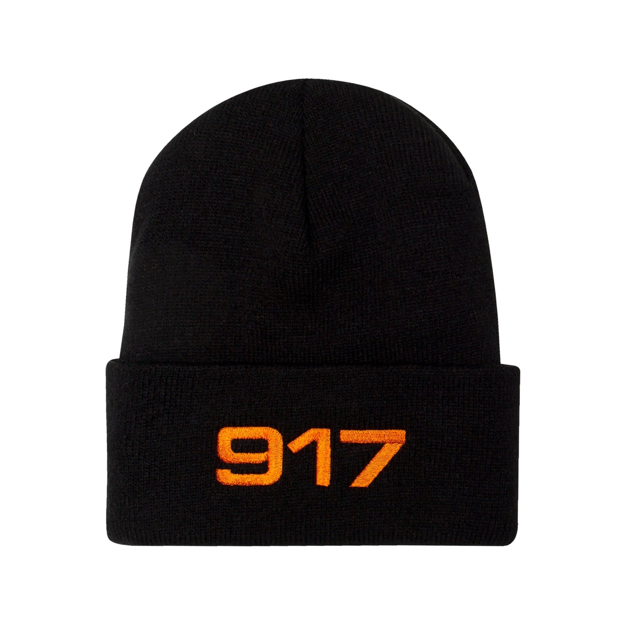 CallMe917 917 Racing Beanie Black/Orange