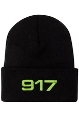 CallMe917 917 Racing Beanie Black/Safety Green