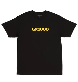 GX1000 GX1000 Og Logo Tee Black/Yellow
