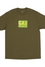 GX1000 PSP264LFFF Tee Military Green