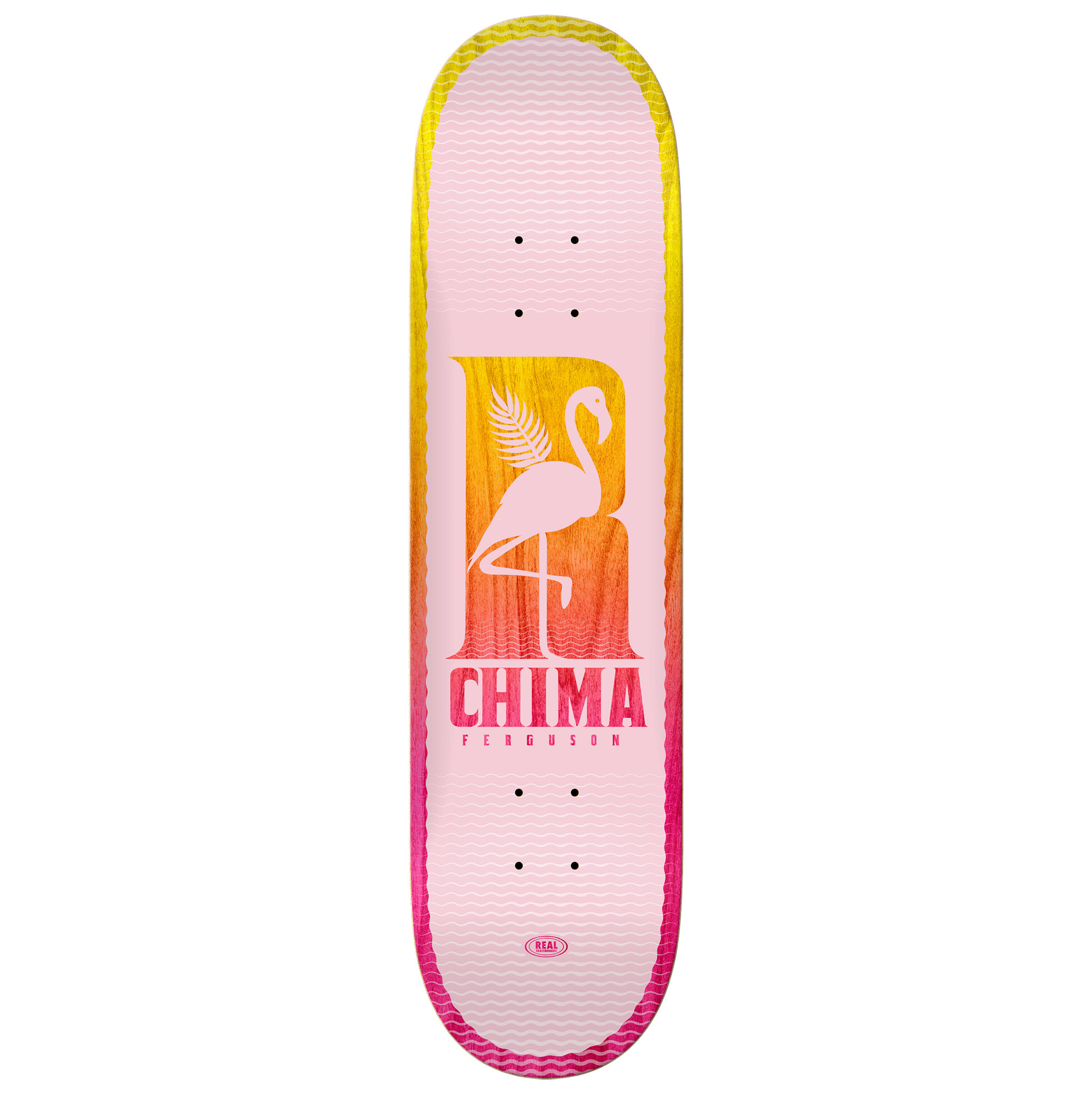 Real Skateboards Be Free Chima 8.25