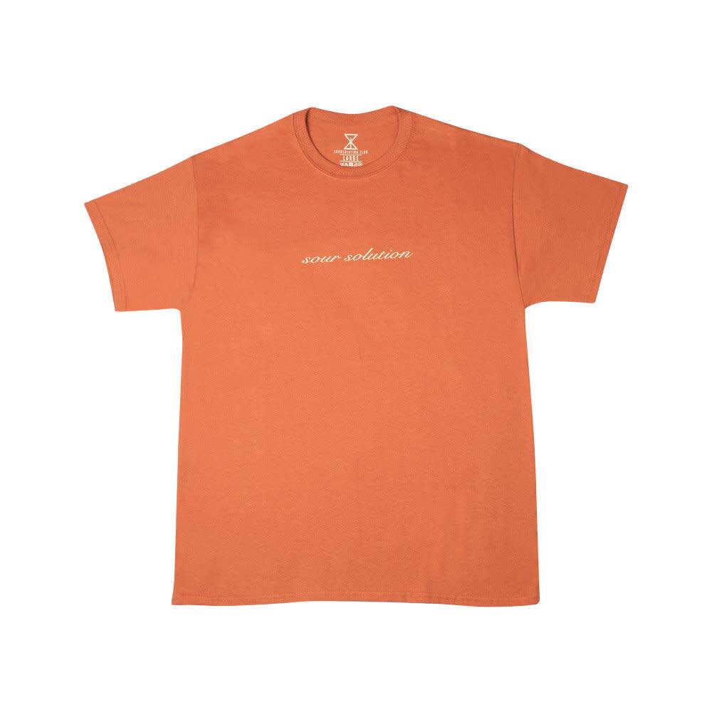 SOUR SOLUTION Sour Script Burnt Orange
