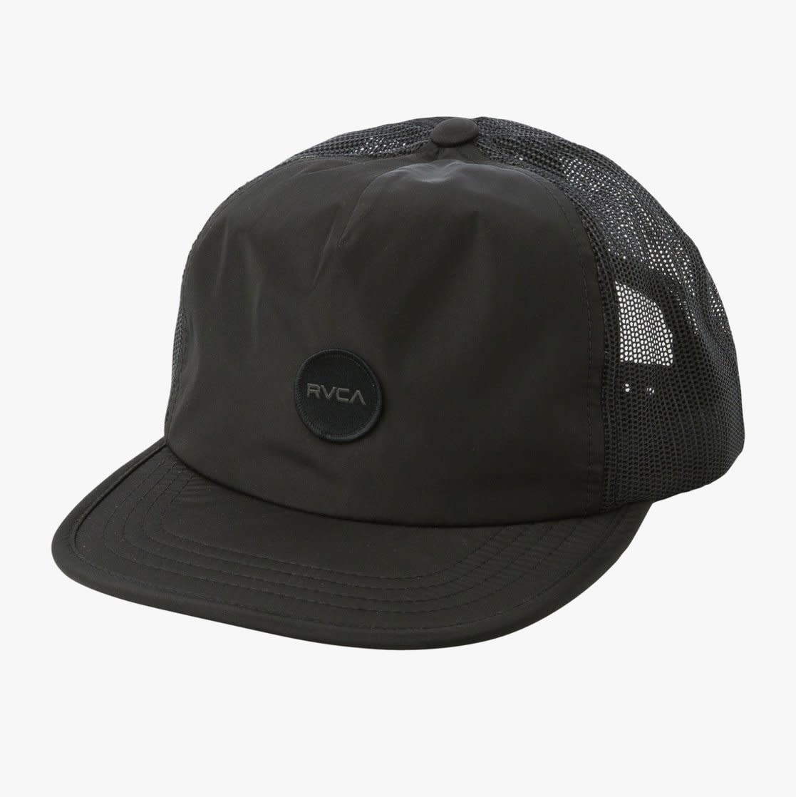 RVCA Travel Trucker Black