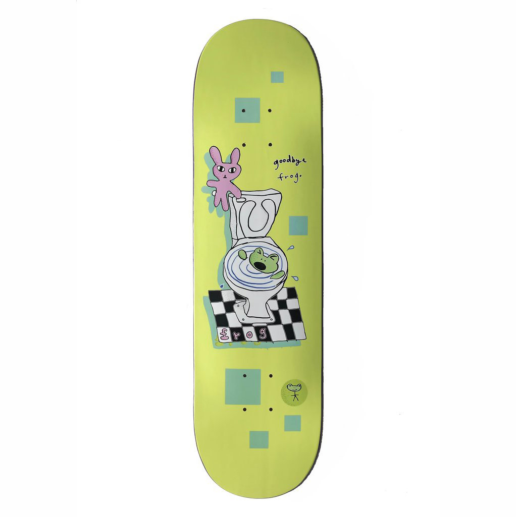 Frog Skateboards Goodbye Frog 8.25