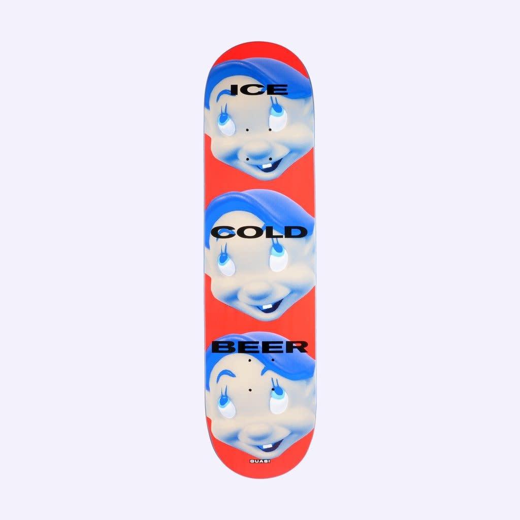 Quasi Skateboards Dayton Face 8.0 Red