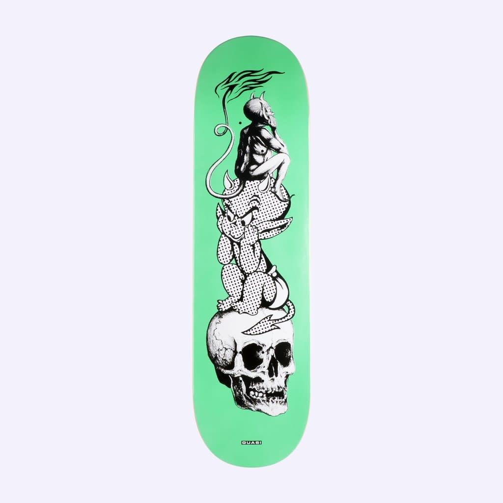 Quasi Skateboards Hot Baby 8.625 Green