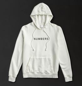 Numbers Edition Wordmark Fleece Hoodie White
