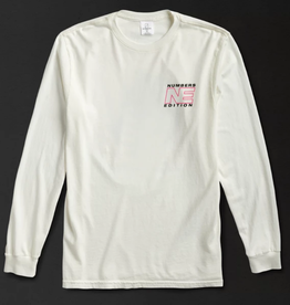 Numbers Edition N.E. Planet L/S White