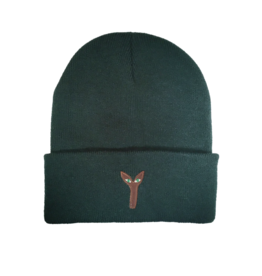 Stingwater Aya Patch Forest Green Beanie