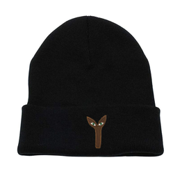Stingwater Aya Patch Black Beanie
