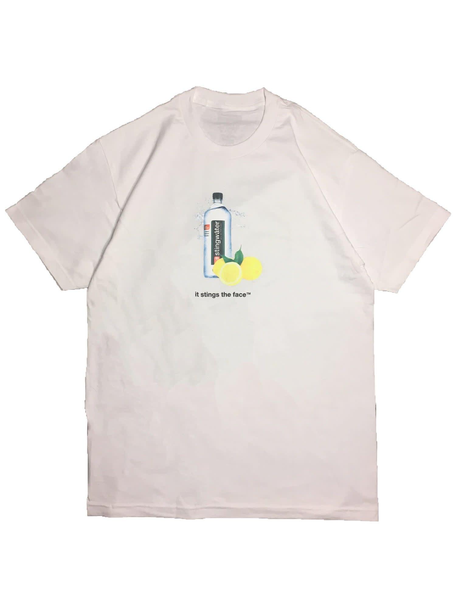Stingwater Lemon Sting White Tee