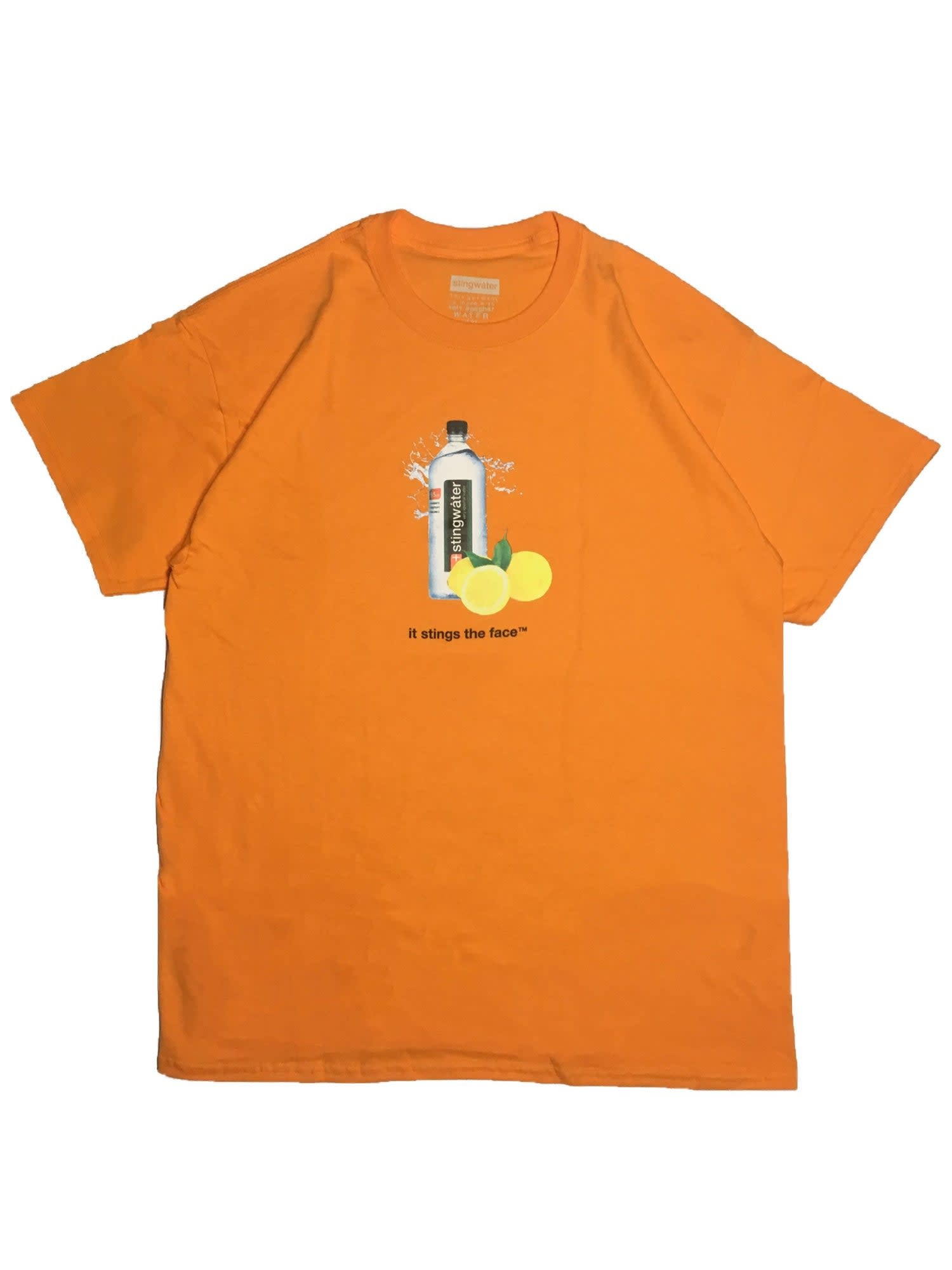 Stingwater Lemon Sting Orange Tee