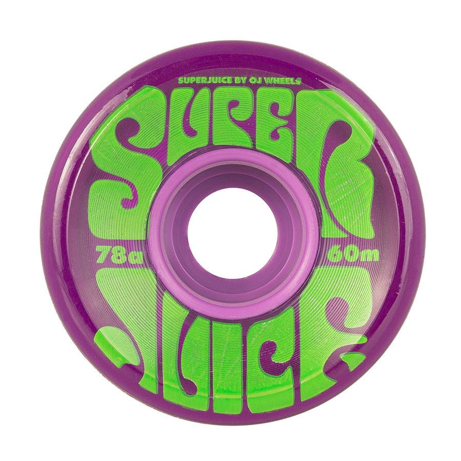 OJ Wheels Super Juice Trans Purple 60mm 78a