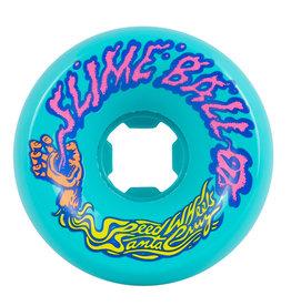 OJ Wheels Slime Balls Vomits Teal 60mm 97a