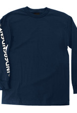Independent Truck Company Bar Cross L/S Navy